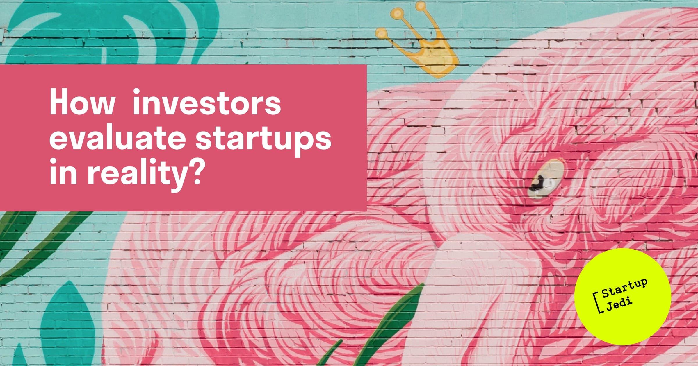investors evaluate startups