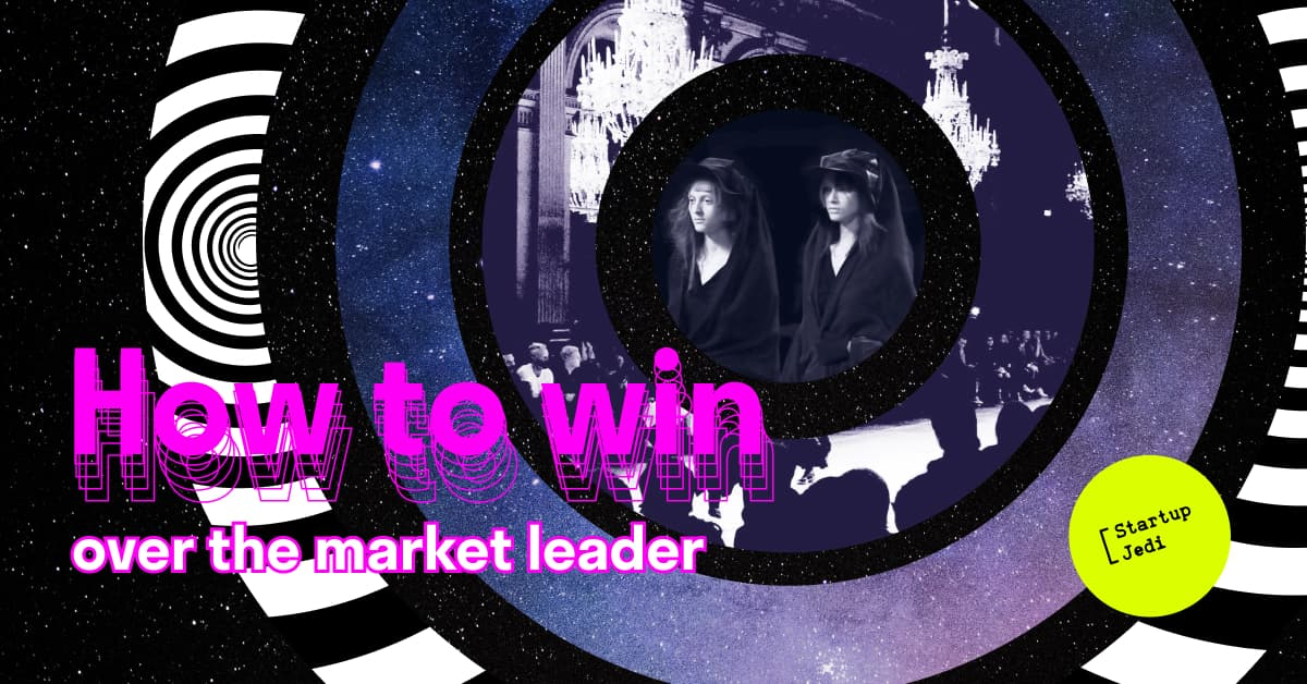 how to win over the market leader