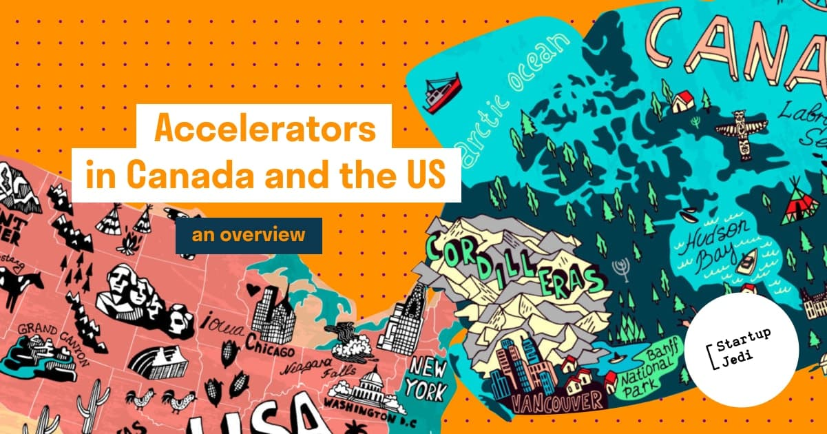 Accelerators in Canada and the US