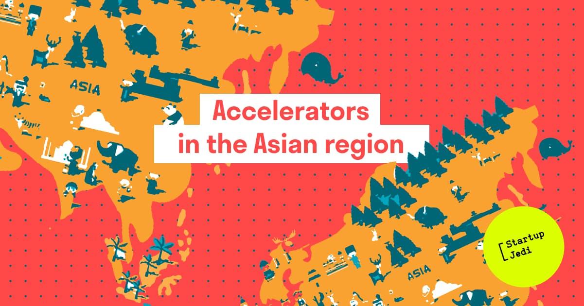 Accelerators in the Asian region