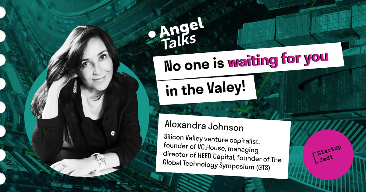 Alexandra Johnson: No one is waiting for you in the Valley!