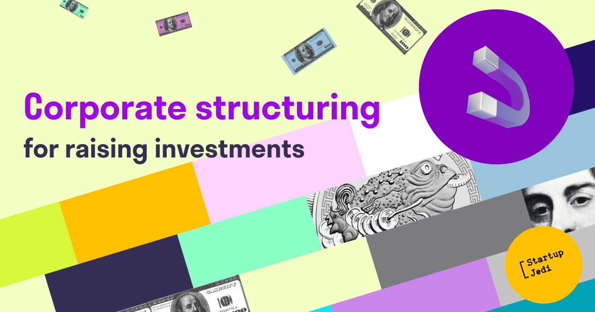 Corporate structuring for raising investment