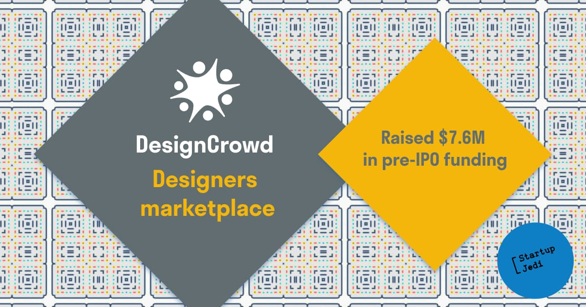 DIY: design marketplace DesignCrowd raises investments before going public.