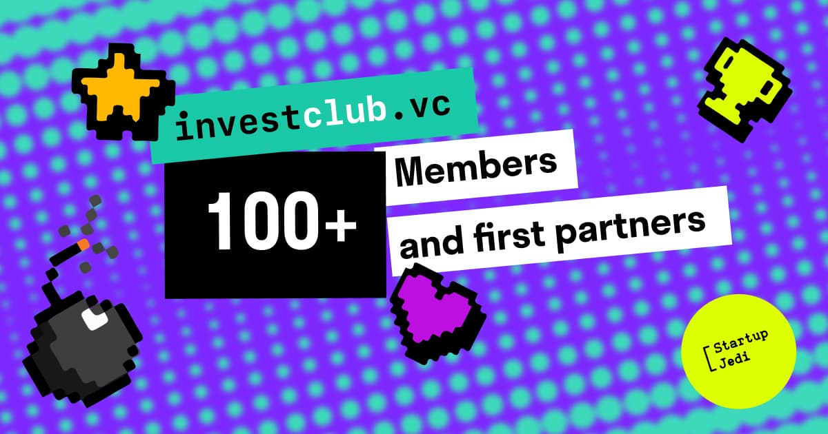 investclub.vc already has more than 100 members and first international partners!