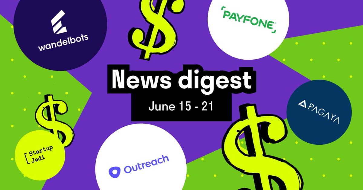 Pagaya, Payfone, Wandelbots, Outreach