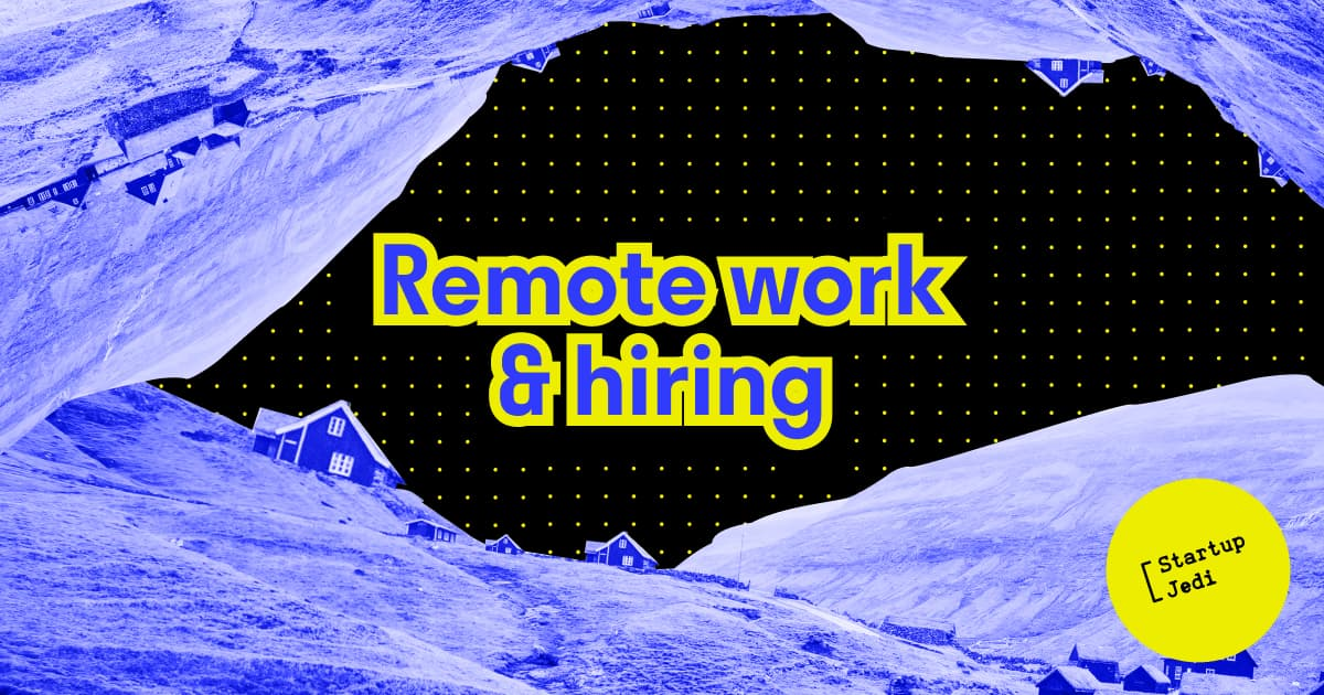 Remote work & hiring