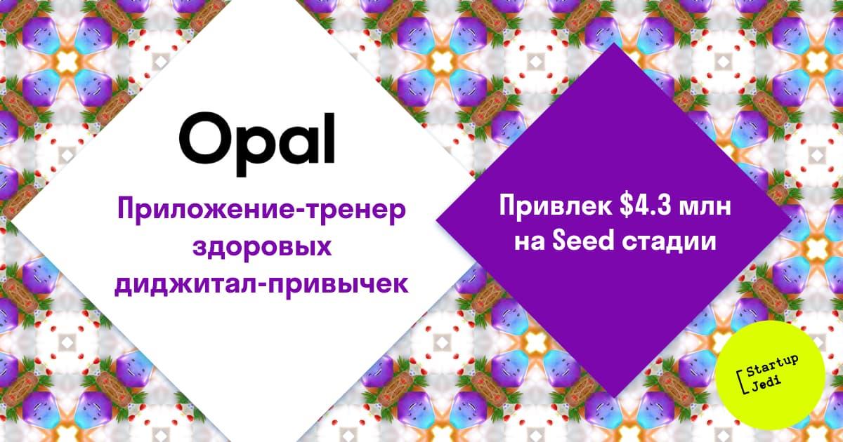 Руки прочь от телефона: Opal привлекает $4.3 млн, чтобы мы меньше сидели в соцсетях