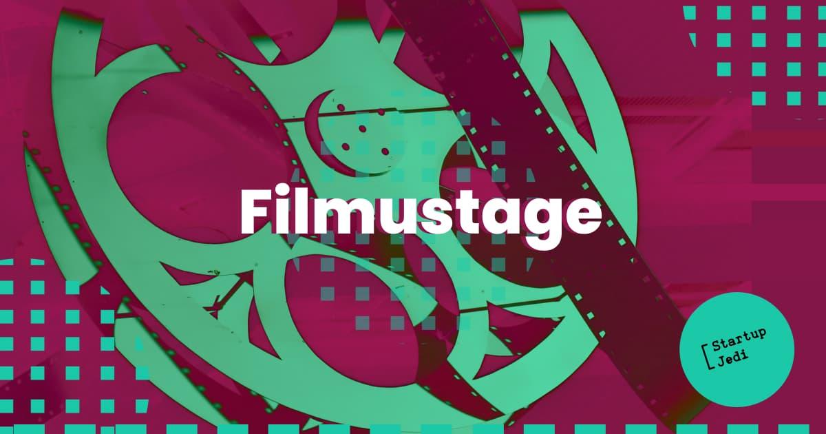 Filmustage startup for filmmakers