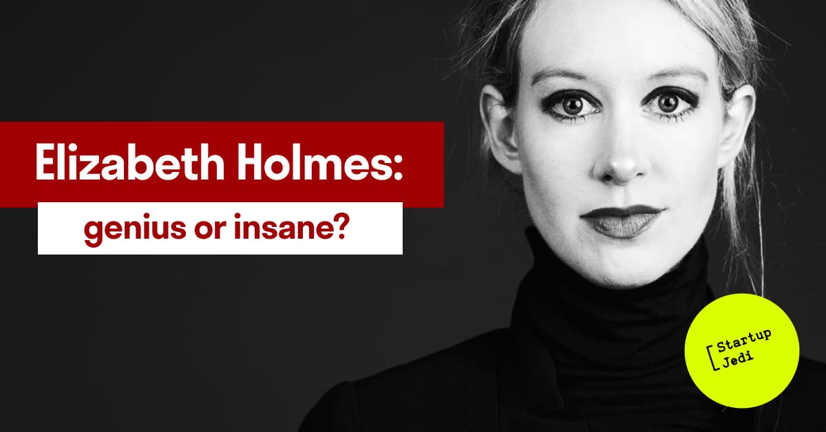 the failure of Elizabeth Holmes and the Theranos company